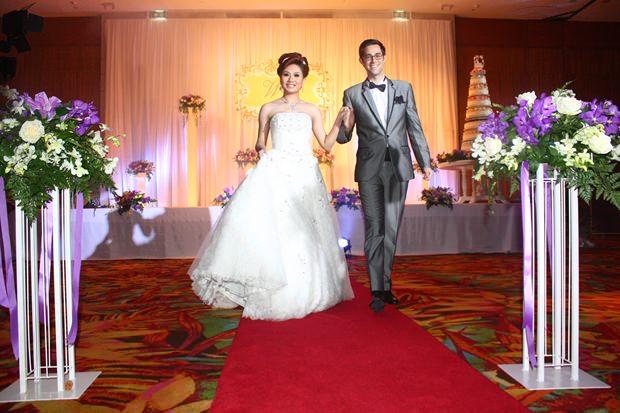 So schön kann eine  Hochzeitsfeier sein.