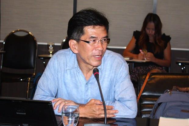 Dr. Jeerapol Sinthunawa, der Vizepräsident der Green Leaf Stiftung.