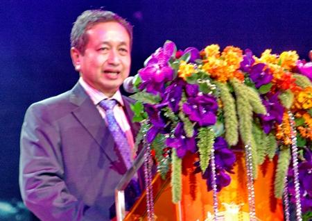 Der stellvertretende Staatssekretär des Finanzministeriums, Rangsank Sriworasart.